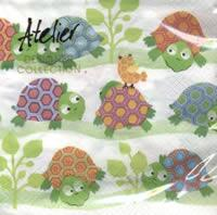 4703 - Colorfull turtles