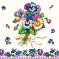 4785 - Pansy Bouquet