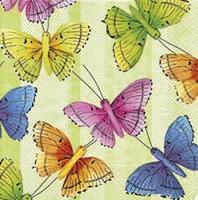 4941 - Butterflies - Green