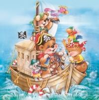5138 - Ship with teddies a.m. and map