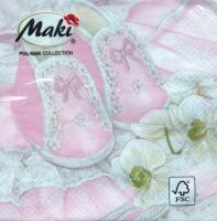 5273 - Christening shoes - Pink