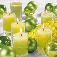 4072 – Candles and green balls
