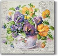 5317 - Pansies bouquet
