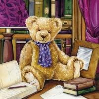 5464 - Teddy in Library