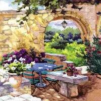 5645 - Patio Morning in Provence