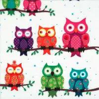 5619 - Colourful Owls