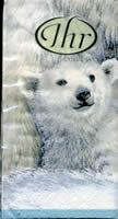 3488 - Polar bears - Handkerchief
