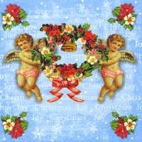 3390 - Angels with wreath